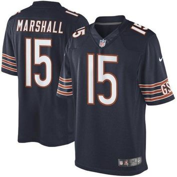 Nike Men's Brandon Marshall Chicago Bears Limited Jersey - Size: Large