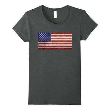 Vintage US Flag in retro style T-Shirt