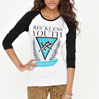 Young & Reckless Elegant Raglan Tee at PacSun.com