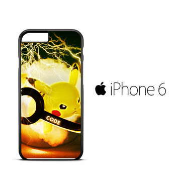 PIKACU pokemon ball wallpaper Y1834 iPhone 6 Case