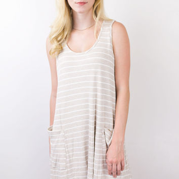 Mary Mary Stripe Pocket Dress