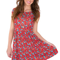 For The Win Floral Dress