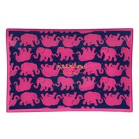 Large Glass Catchall Tray in Tusk in Sun by Lilly Pulitzer