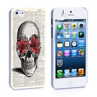 Pink Flower Skull iPhone 4s iPhone 5 iPhone 5s iPhone 6 case, Galaxy S3 Galaxy S4 Galaxy S5 Note 3 Note 4 case, iPod 4 5 Case