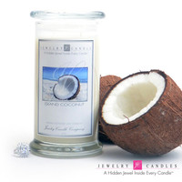 Island Coconut Jewelry Candle