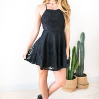 Love Sick Lace Flare Dress