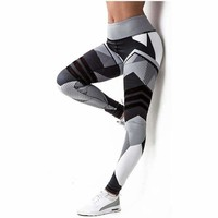 Women Leggings High Elastic Leggings Printing Women Fitness Legging