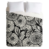 Julia Da Rocha Bouquet Of Flowers Love Duvet Cover