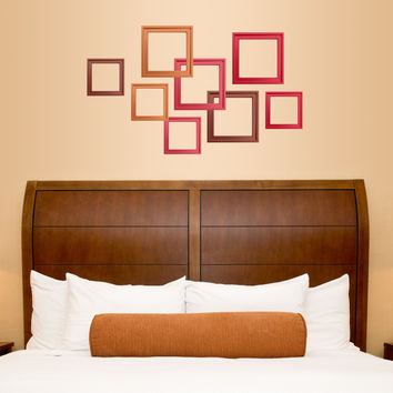 Autumn Sunrise Frames Adhesive wall decal