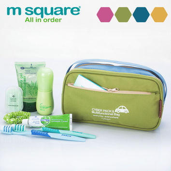 Hot Deal Beauty On Sale Hot Sale Waterproof Travel Double-layered Toiletry Kits Make-up Bag [4918355780]