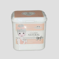 White Cosmetic 1 Box Makeup Remove Wet Makeup