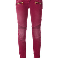 Balmain Stretch Biker Jeans - Farfetch