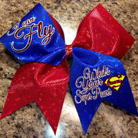 What's your super power cheer bow