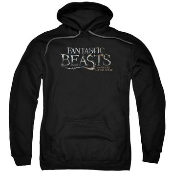 Fantastic Beasts - Logo Adult Pull Over Hoodie