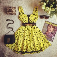 Day-First™ Yellow Sexy Dress