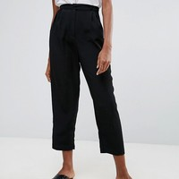 ASOS Tapered Peg Trousers at asos.com