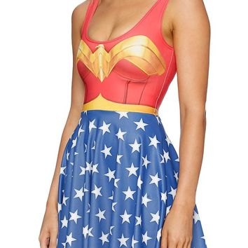 WONDER WOMAN SKATER DRESS - LIMITED