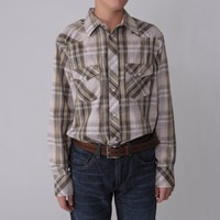Boston Traveler Boys Plaid Shirt