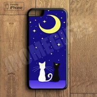 Luna and Artemis Plastic Case iPhone 6S 6 Plus 5 5S SE 5C 4 4S Case Ipod Touch 6 5 4 Case iPhone X 8 8 Plus