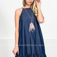 Denim June Dress