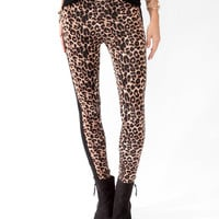 Wild Tuxedo Striped Leggings