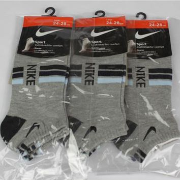 NIKE Woman Men Cotton Socks-2