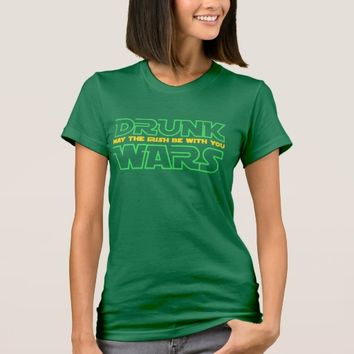May the Irish Be With You T-Shirt