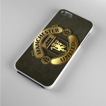 Gold Football Manchester United Logo Iphone 5s Case