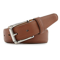 Cole Haan Milled Edge Leather Belt