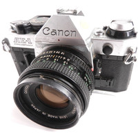 Vintage Canon  AE1 Program Film Camera  1970s by MaejeanVINTAGE