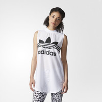 """Adidas""  Fashion Casual Letter Print Sleeveless T-shirt"