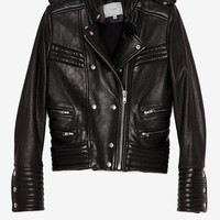 PREORDER IRO Quilted Leather Biker Jacket-Jackets + Outerwear-Clothing-Categories- IntermixOnline.com