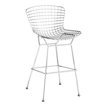 ZUO Wire bar chair chrome (set of 2)