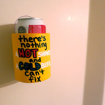Custom Shower Beer Koozie