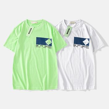 Cotton Short Sleeve Summer Couple T-shirts [1276629778468]