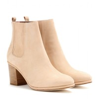 Brenda leather ankle boots