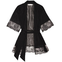 Chantilly Tulle & Lace Robe
