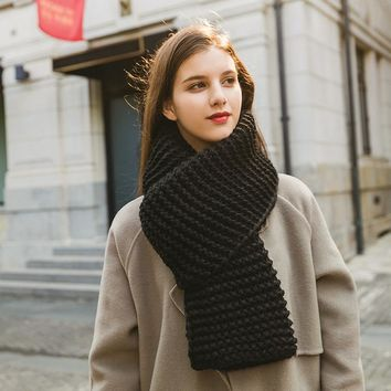 Winter Knit Couple Scarf [280547098665]
