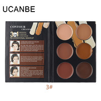 Ucanbe Cosmetics Cream Contour Highlighting Makeup Kit  Foundation Concealer Palette