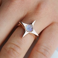 North Star Ring | Rose Gold
