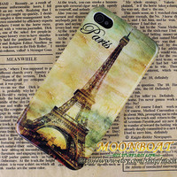 Fashion Retro Eiffel tower Hard case cover For Apple iPhone 4,iPhone 4s 4g