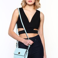 Side Chick Cutout Top