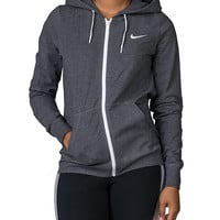 NIKE SPORTSWEAR NIKE JERSEY FULL ZIP HOODIE - Grey | Jimmy Jazz - 614829-071