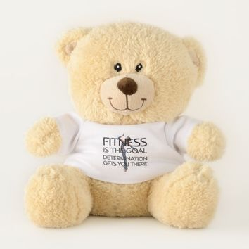 TOP Fitness Goal Teddy Bear