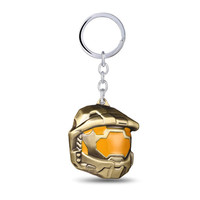 Spartan Assault Mask Keychain