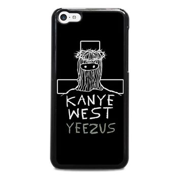 kanye west yeezus iphone 5c case cover  number 1