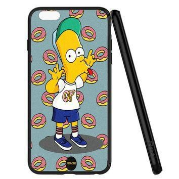 of supreme Bart Simpsons iPhone 6 | 6S Case Planetscase.com