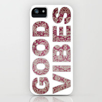GOOD VIBES iPhone Case by Michelle | Society6