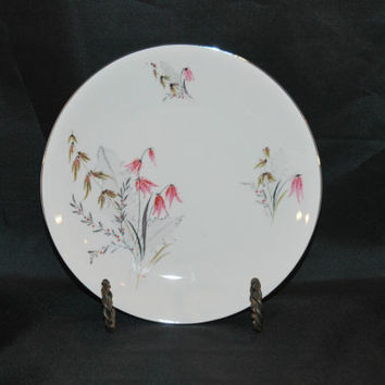 Mid Century Royal Duchess, Mountain Bell Pattern Salad Plate (c.1950's-1960's) Fine China Bavaria Germany, Collectible, Japan Influence