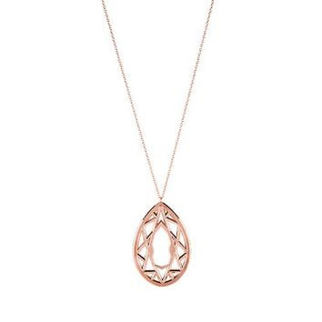 Gem: Rose Gold Necklace Bottle Opener by Blush